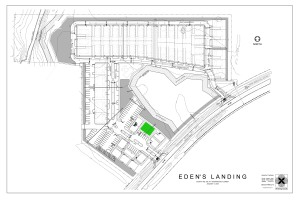 Eden's Landing Site Plan