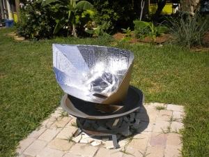 Fun Panel Solar Cooker