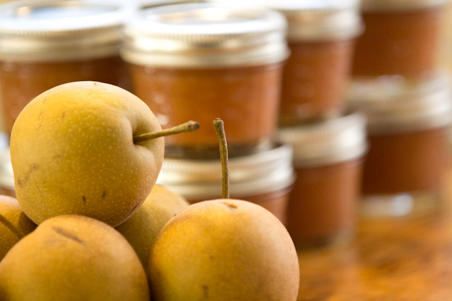 Asian Pears and Pear Butter