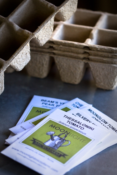 Paper seed starting pots